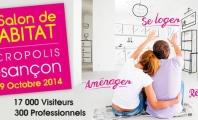 Salon de l'Habitat à Besançon du 17 au 19 octobre 2014