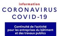 Continuité d'activité Covid-19
