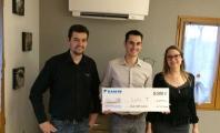 Un heureux client gagne 8000 € suite à l'achat de sa PAC Air/Air