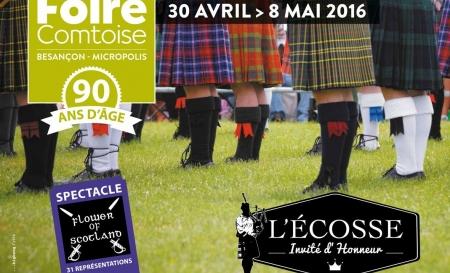 Foire Comtoise à Besançon du 30 Avril au 8 Mai 2016