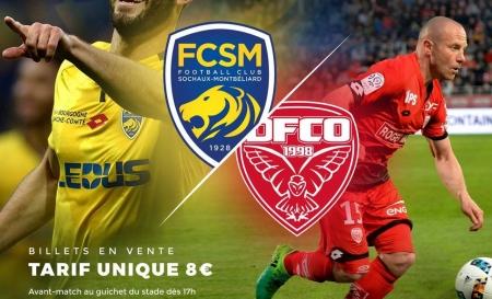 DAVAL parrain du match FCSM Sochaux Montbéliard - DFCO Dijon le 12 juillet 2017