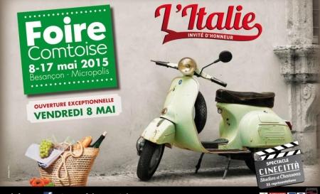 Foire Comtoise à Besançon du 8 au 17 Mai 2015