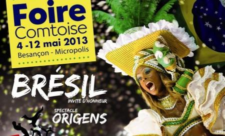 Foire Comtoise à Besançon du 4 au 12 Mai 2013