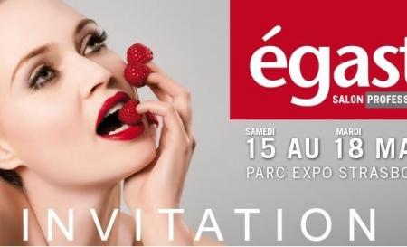 Salon EGAST à Strasbourg du 15 au 18 Mars 2014