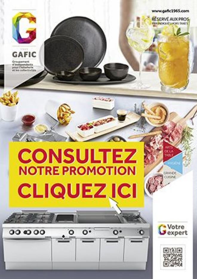 Promo GAFIC du 1er avril au 30 septembre 2018