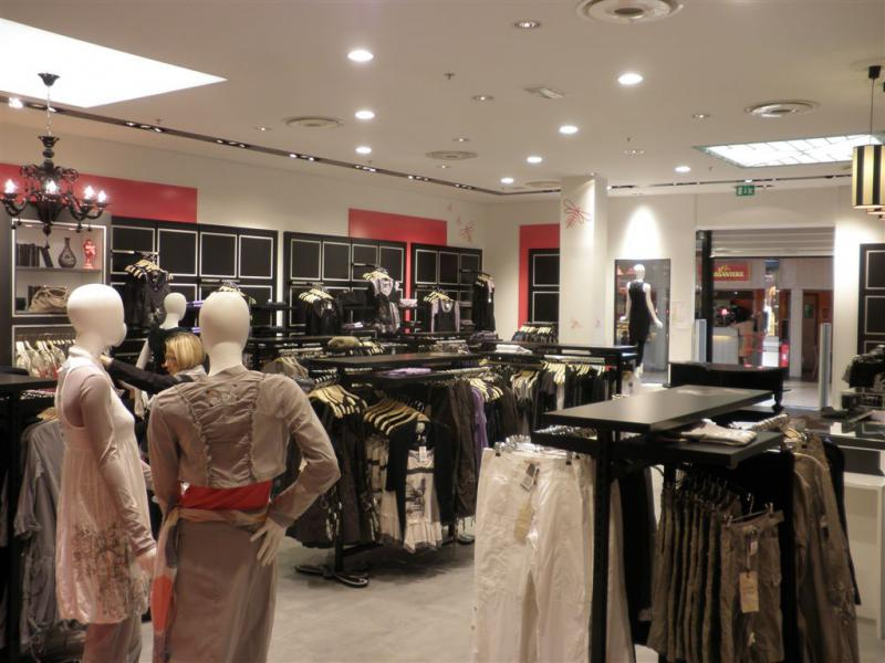 Climatisation ventilation magasins l m v la mode est a vous besan on chateaufarine 2010 - Centre commercial chateaufarine ...