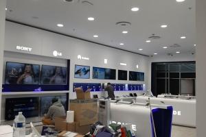 Climatisation d'une boutique HUBSIDE STORE à Besançon (2021)