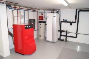 Géothermie sur nappe phréatique à Pérouges (2012)