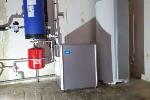 PAC Air/Eau Haute Température et Chauffe-eau thermodynamique à Colombier (2020)