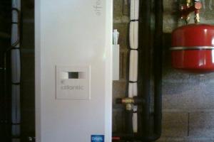 Aérothermie Air / Eau à Pusey (2011)