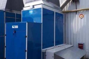 Générateur d'air chaud à Magny-Vernois (2019)