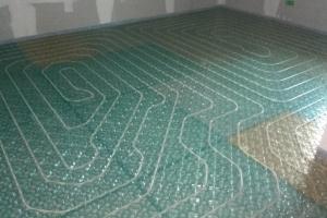 Plancher chauffant mince spécial rénovation