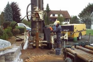 Géothermie sur nappe phréatique à Froideconche (2005)