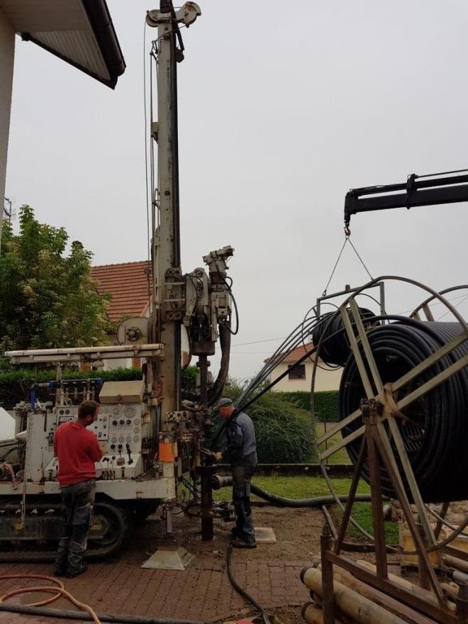 Géothermie verticale à La-Chapelle-les-Luxeuil (2020)