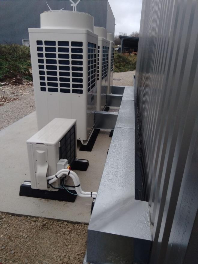 Climatisation des locaux d'une entreprise de mécanique de précision à Autechaux (2019)