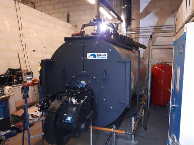 Chaudière gaz 1,8 MW à Magny-Vernois (2021)
