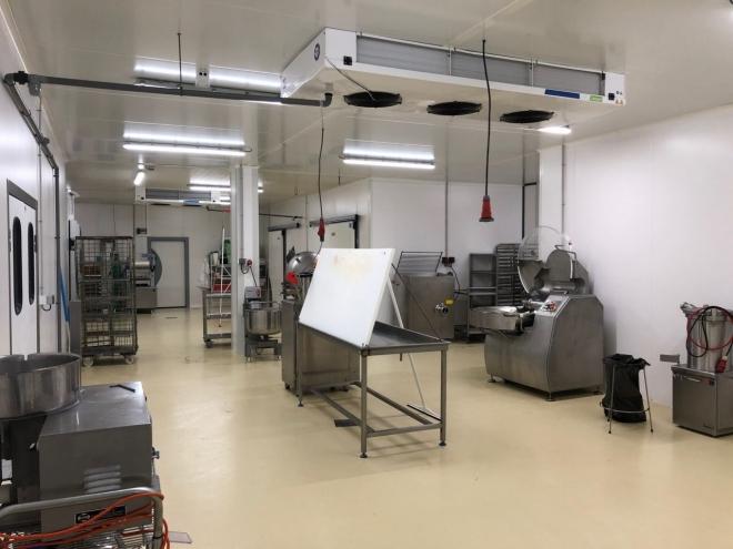 Atelier de transformation de viandes à Pusey (2019)