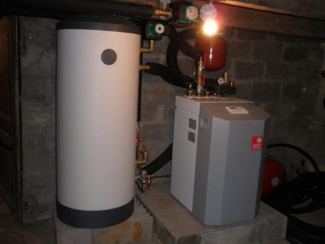 Géothermie verticale à Hyet (2012)