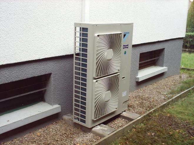 Aérothermie Air / Eau à Luxeuil-les-Bains (2004)