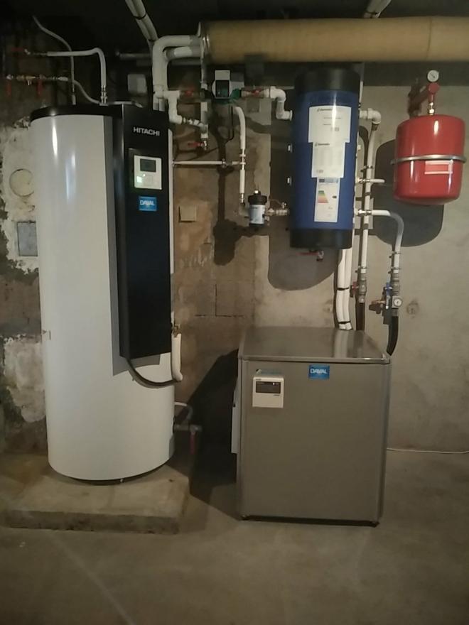 PAC Air/Eau Haute Température et Chauffe-eau thermodynamique à Lure (2020)
