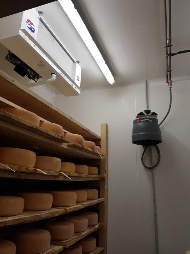 Cave à fromages à Tresilley (2018)