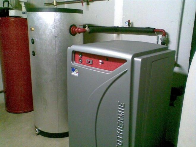 Géothermie horizontale à Beaumotte-les-Pins (2008)