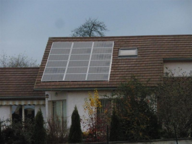 Solaire PV à Mailleroncourt-Charette (2009)