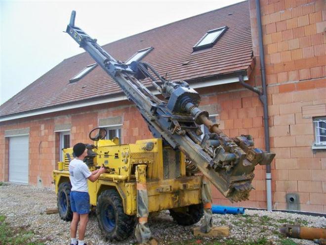 Géothermie sur nappe phréatique à Combeaufontaine (2009)