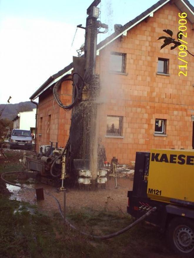 Géothermie sur nappe phréatique à Saint-Barthélémy (2007)