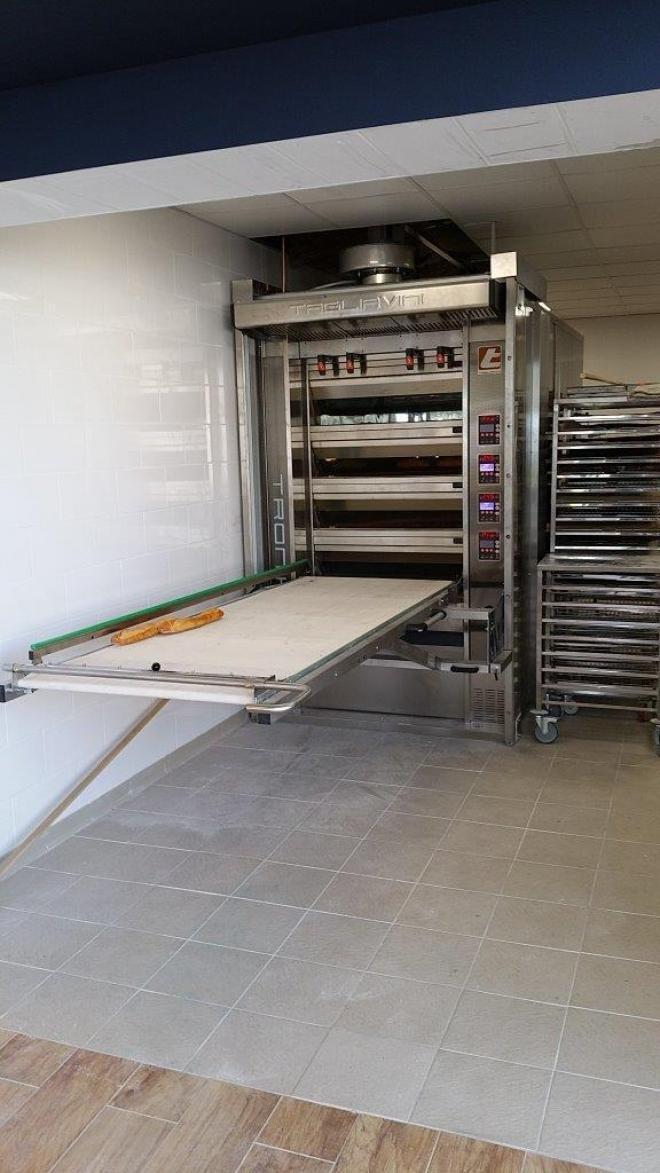 Labo d'une boulangerie à Vesoul (2015)