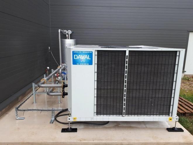 Production d'eau glacée à Velleminfroy (2020)