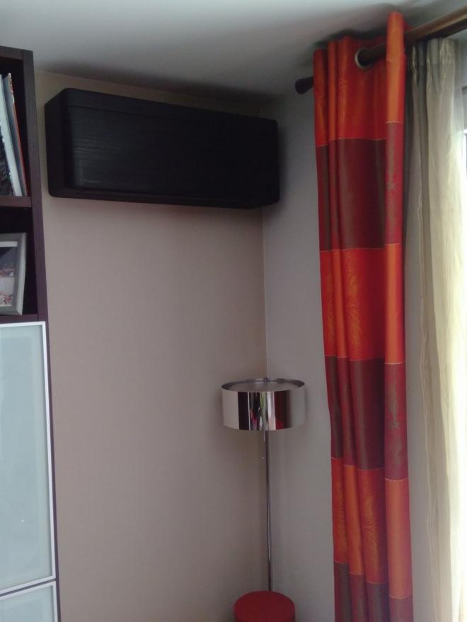 Climatisation réversible dans un appartement à Besançon (2020)