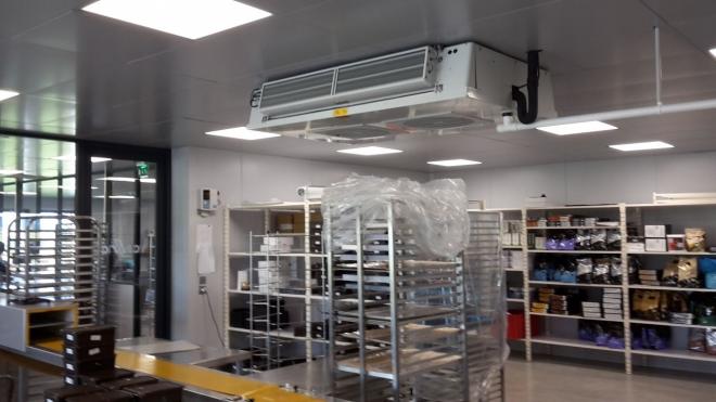 Installations frigo. d'une chocolaterie à Montbéliard (2016)