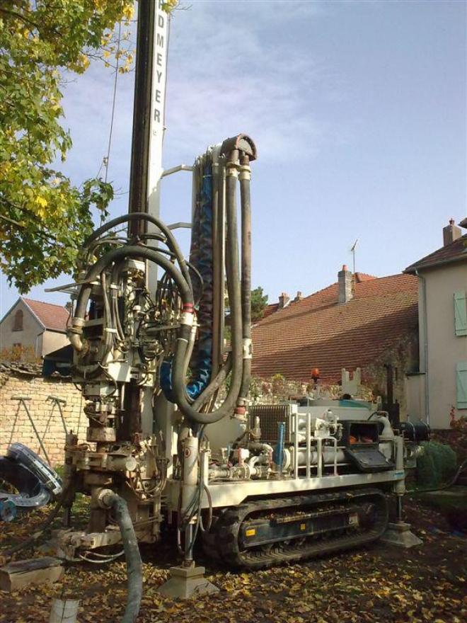 Géothermie verticale à Neurey-en-Vaux (2008)